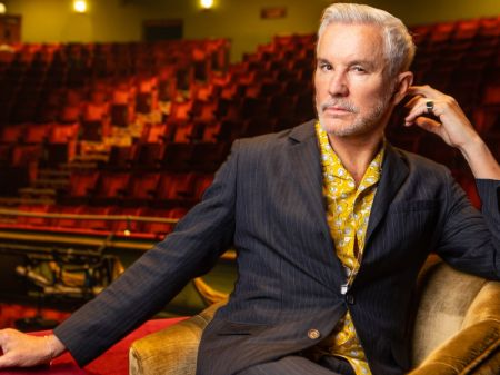 Director of Elvis Presley biopic Baz Luhrmann.