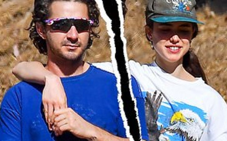 Shia LaBeouf and Margaret Qualley Reportedly Split