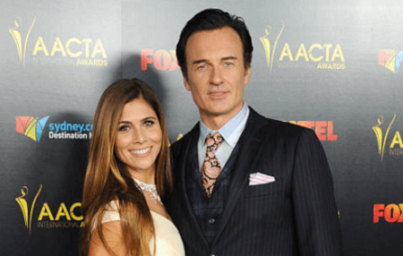 Kelly is married to the actor Julian McMahon.