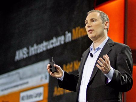 Andy Jassy earned a base salary of $384,000 as a CEO of Amazon Web Services.