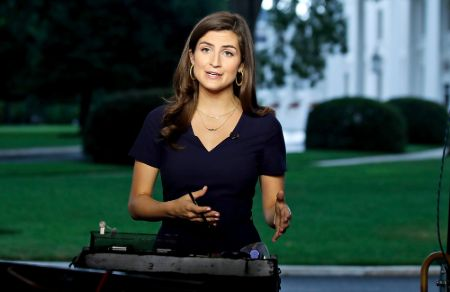 Kaitlan Collins is the youngest correspondent in the post of CNN's Chief White House correspondent.