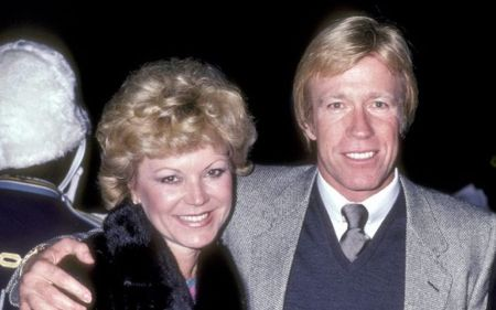 Dianne Holechek and Chuck Norris