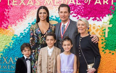 Matthew McConaughey Kids - Grab All the Details Here