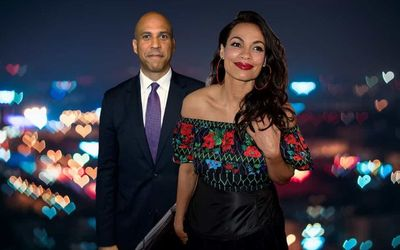 The Relationship Explanation Between Rosario Dawson and Cory Booker