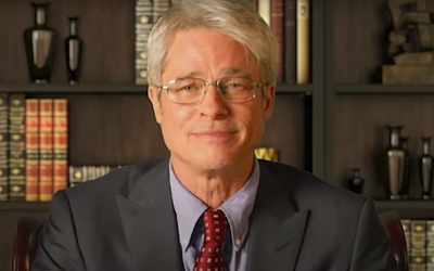Brad Pitt Becomes Dr. Fauci in the Second At-Home Edition of Saturday Night Live