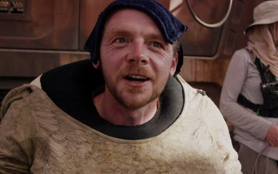 Simon Pegg Wants to Feature on 'The Mandalorian'