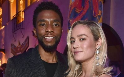 Brie Larson Honors Her Avengers Co-Star Chadwick Boseman In a Loving Post